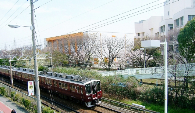 阪急電車の写真