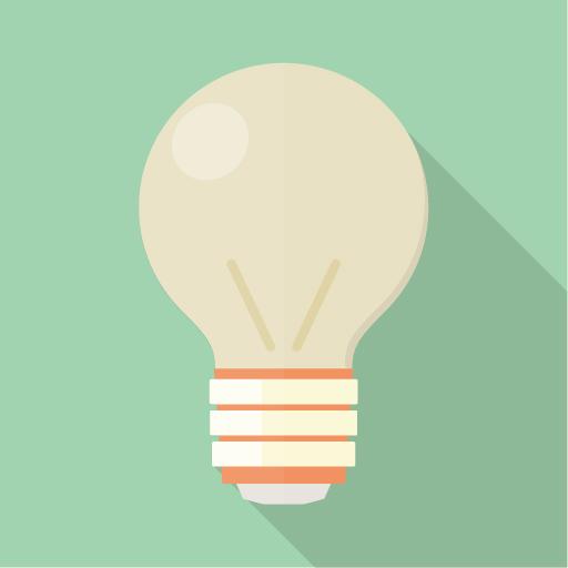 電球のイメージイラスト