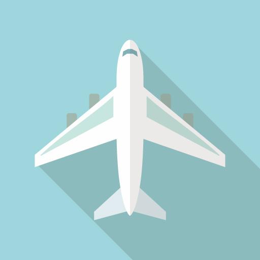飛行機のイメージイラスト