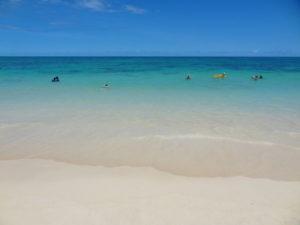 オアフ島のカイルアビーチ
