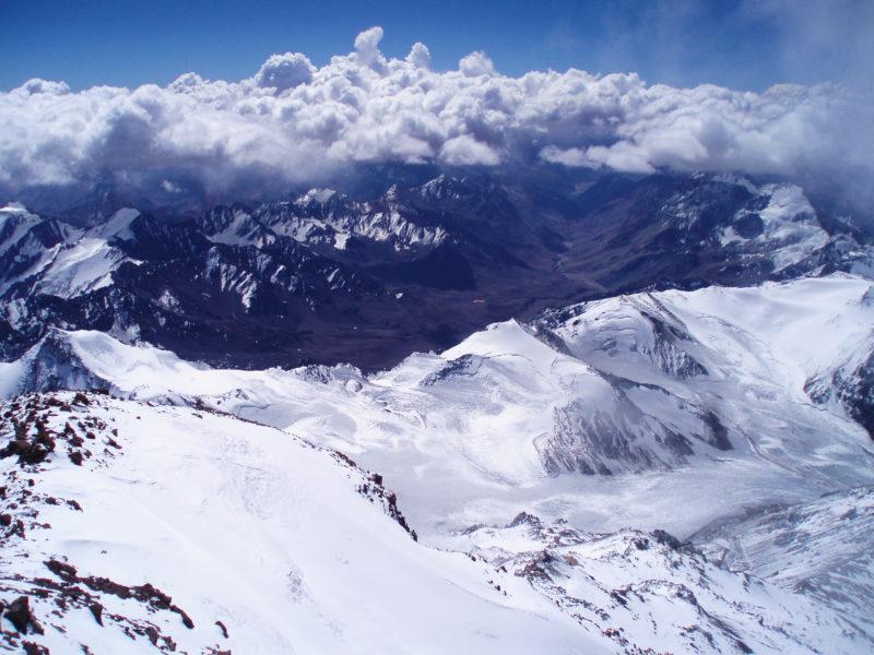 アコンカグアの頂上5
