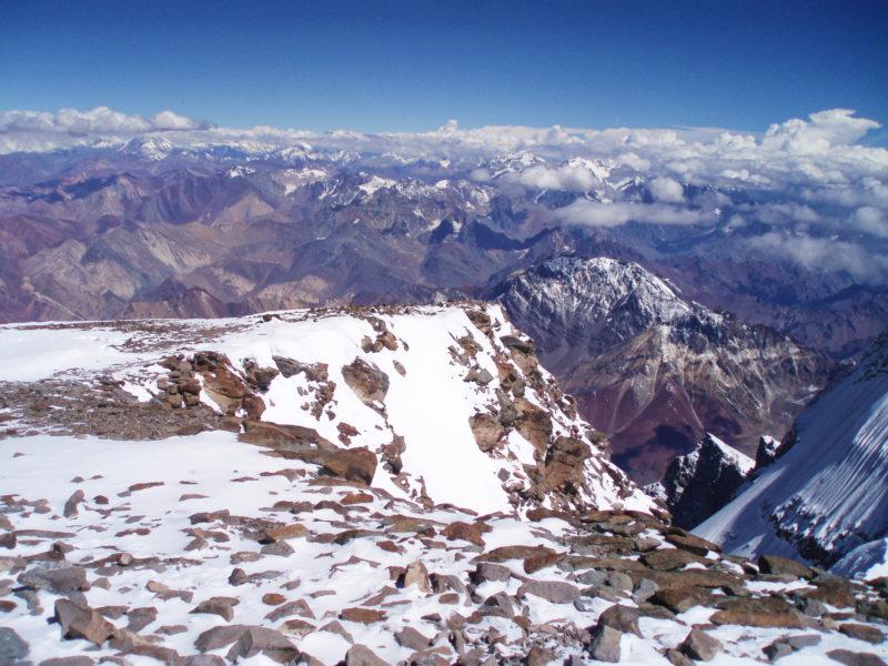 アコンカグアの頂上3