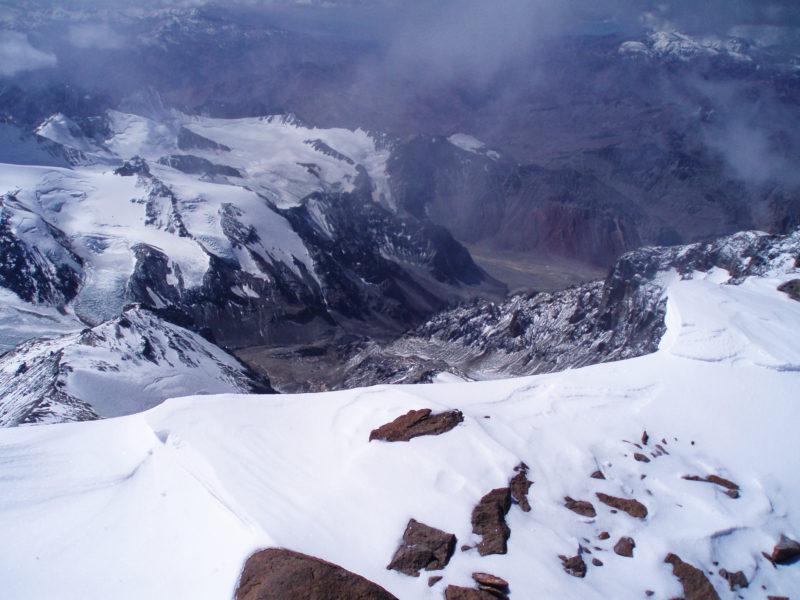 アコンカグアの頂上4