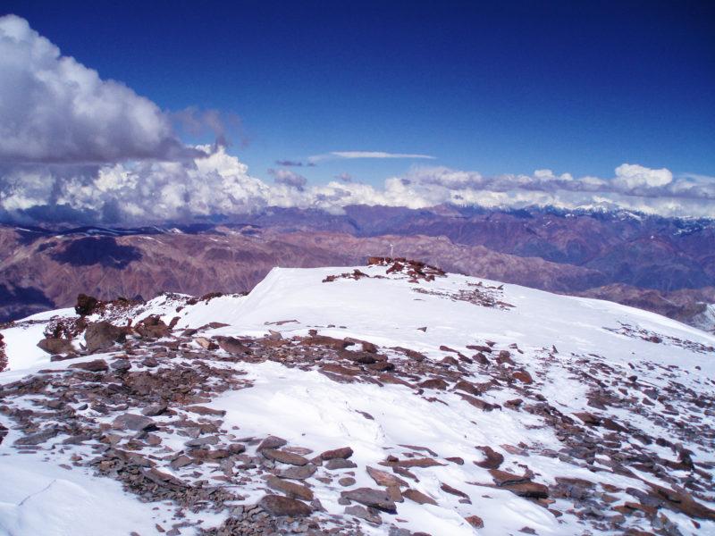 アコンカグアの頂上2