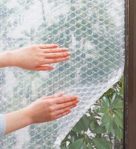 窓ガラスだけに断熱シート