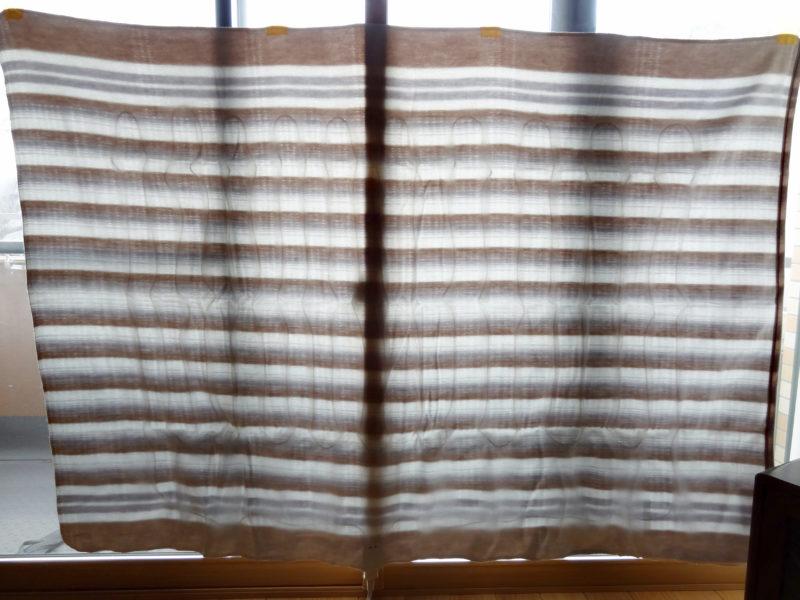 電気毛布の電熱線位置