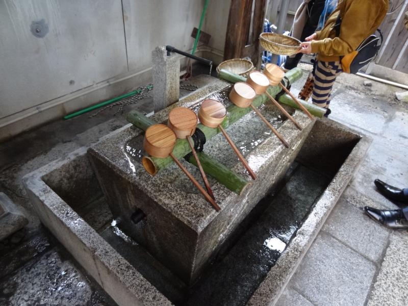 御金神社の手水舎