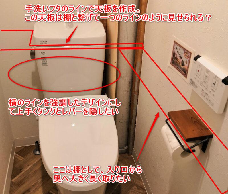 トイレの要望を込めたイメージ図
